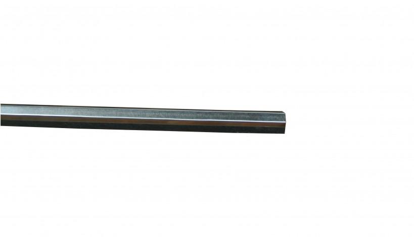 Galvaniseret stålafdækning i 25 mm passer til Bullklink planker